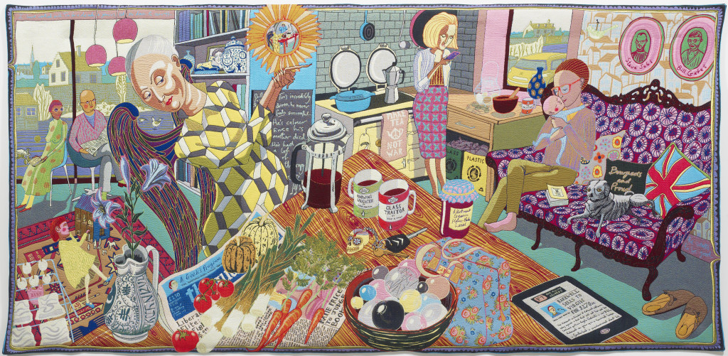 Grayson Perry: The Annunciation of the Virgin Deal, 2012.